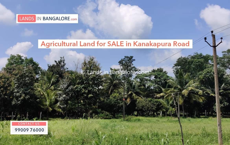 Agricultural Land for sale in Harohalli Kanakapura road